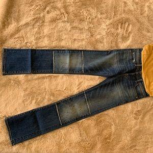 Pilcro and the letterpress straight leg jeans